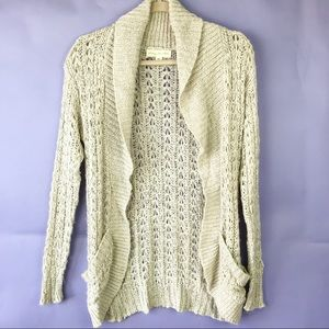 Staring at Stars Loose Knit Open Cardigan